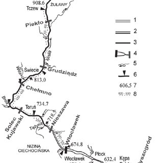 International waterways E40 and E70 in relation to the