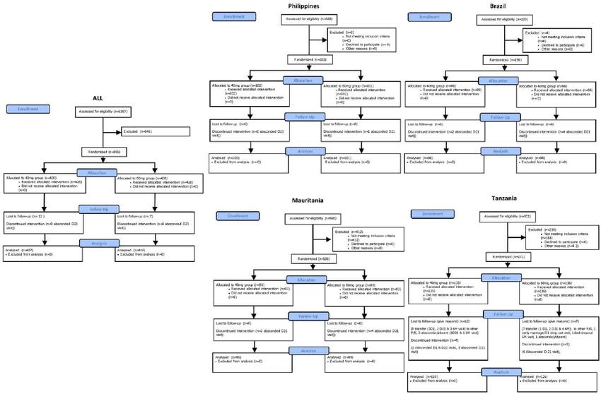 Patient attrition. Consort flow diagram of patient