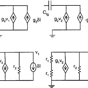 Small signal model for injection in the bump circuit