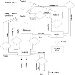 Hospital Database Design Diagram Kohler Engine Charging System 3 Entityyrelationship For The Sample