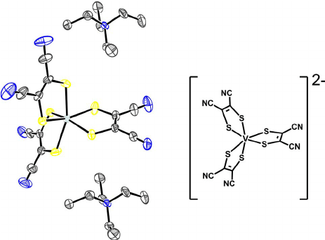 Example of a redox active noninnocent ligand complex