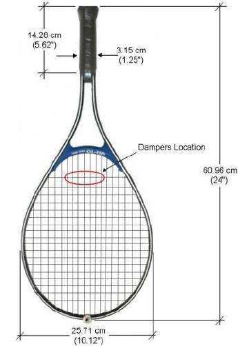 tennis racket diagram tennis racquet diagram
