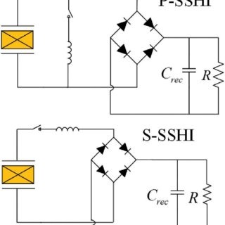 Schematic diagrams of diode tests using PXI-4070 DMM