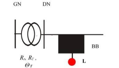 Measurement at the lower voltage side of a transformer