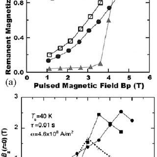 Trapped flux density distribution of a Gd–Ba–Cu–O bulk