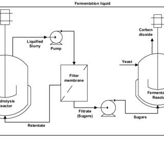 Figure 13: Schematic representation of the process flow