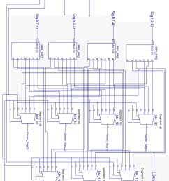 schematic diagram of the m sig display sub cell  [ 850 x 1142 Pixel ]