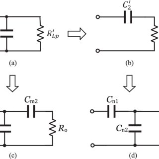 Equivalent parallel RC circuit of the feedback network and