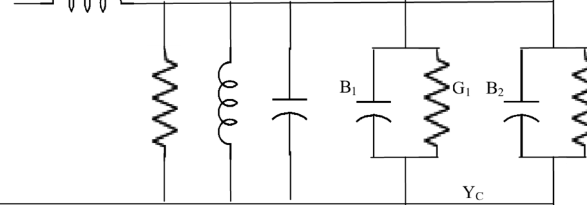 Equivalent circuit of Inset fed microstrip patch antenna