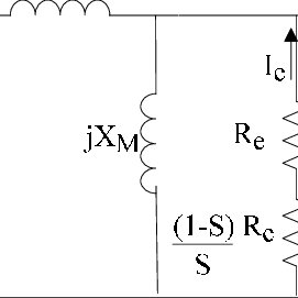 equivalent electrical circuit of three phase axial flux