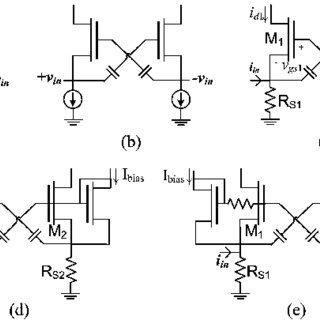 (PDF) Gm-boosted differential transimpedance amplifier