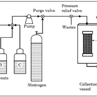 Schematic model of ultrasound assisted extraction