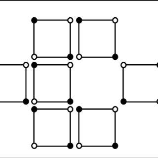 (Color online) Scheme of the fluxonic cellular automata