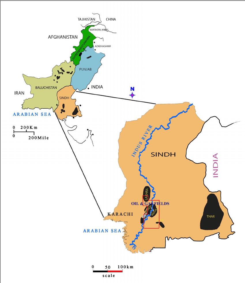 Coal Mines Map India