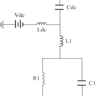 Equivalent circuit diagram of a varactor diode with