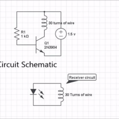 Wireless Power Transmission Circuit Diagram 120v To 12v Transformer Wiring Simple For Demonstration Of