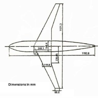 NTF FX2B Idealized Profile Drag Polar: M = 0.75, Re = 5