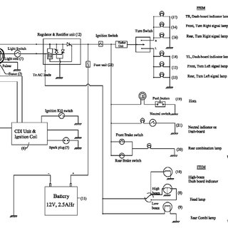 typical wiring diagram bosch 12v relay electrical circuit of two wheeler download