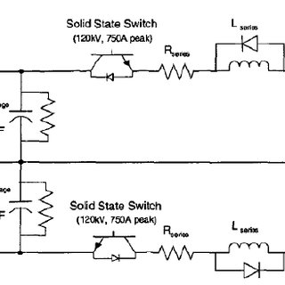 3. Schematic circuit of a magnetic pulse generator [44