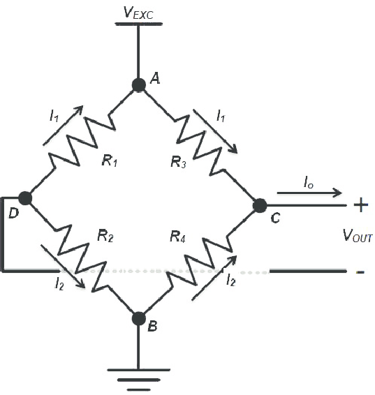 Wheatstone bridge circuit Nyquist Noise (Thermal Noise