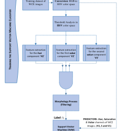 flowchart of the training process of the support vector machine svm classifier [ 850 x 1043 Pixel ]