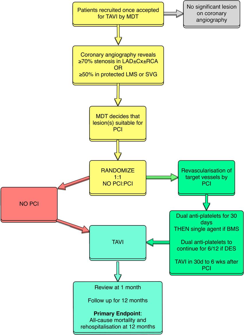 medium resolution of flow chart tavi transcatheter aortic valve implantation mdt multidisciplinary team