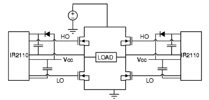 MOSFET H BRIDGE CIRCUIT DIAGRAM - Auto Electrical Wiring ...