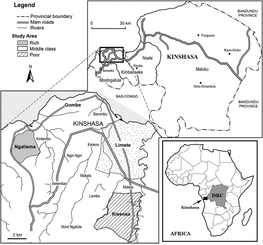 Location and neighbourhoods. Source: Cartography Unit