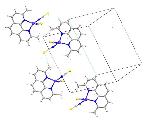 UV-Vis spectrum of the desired complexes (1 and 2) in