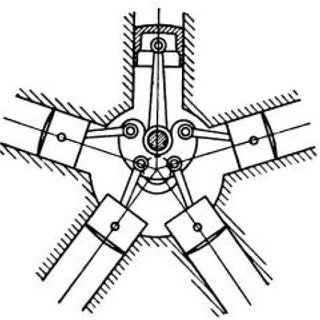 Free-Body-Diagrams for each linkage in the slider-crank