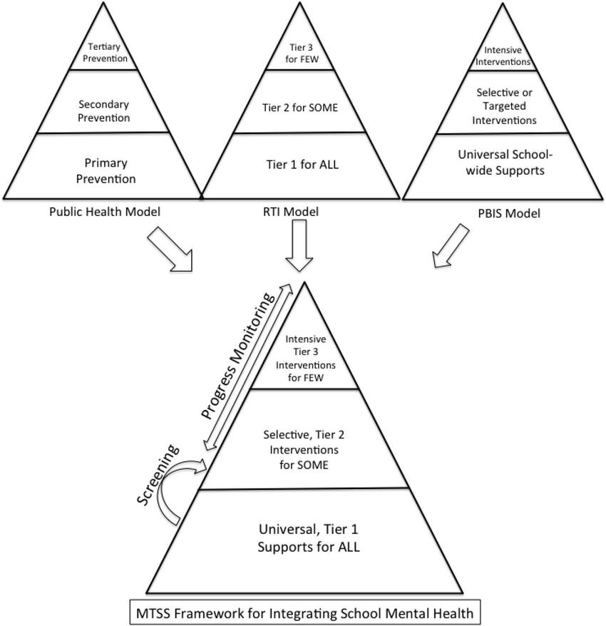 Integration of multilevel intervention models into a