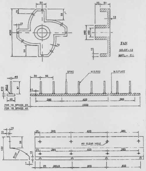small resolution of schematic diagram of fan type beating cylinder