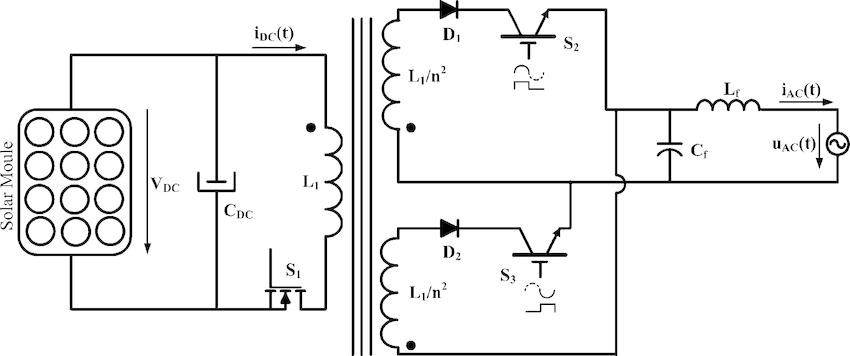 High-frequency single-stage current-source flyback