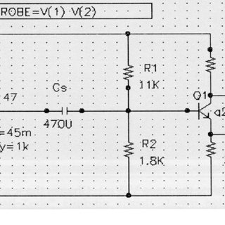 Examples of electronic circuit layouts (Actual size is