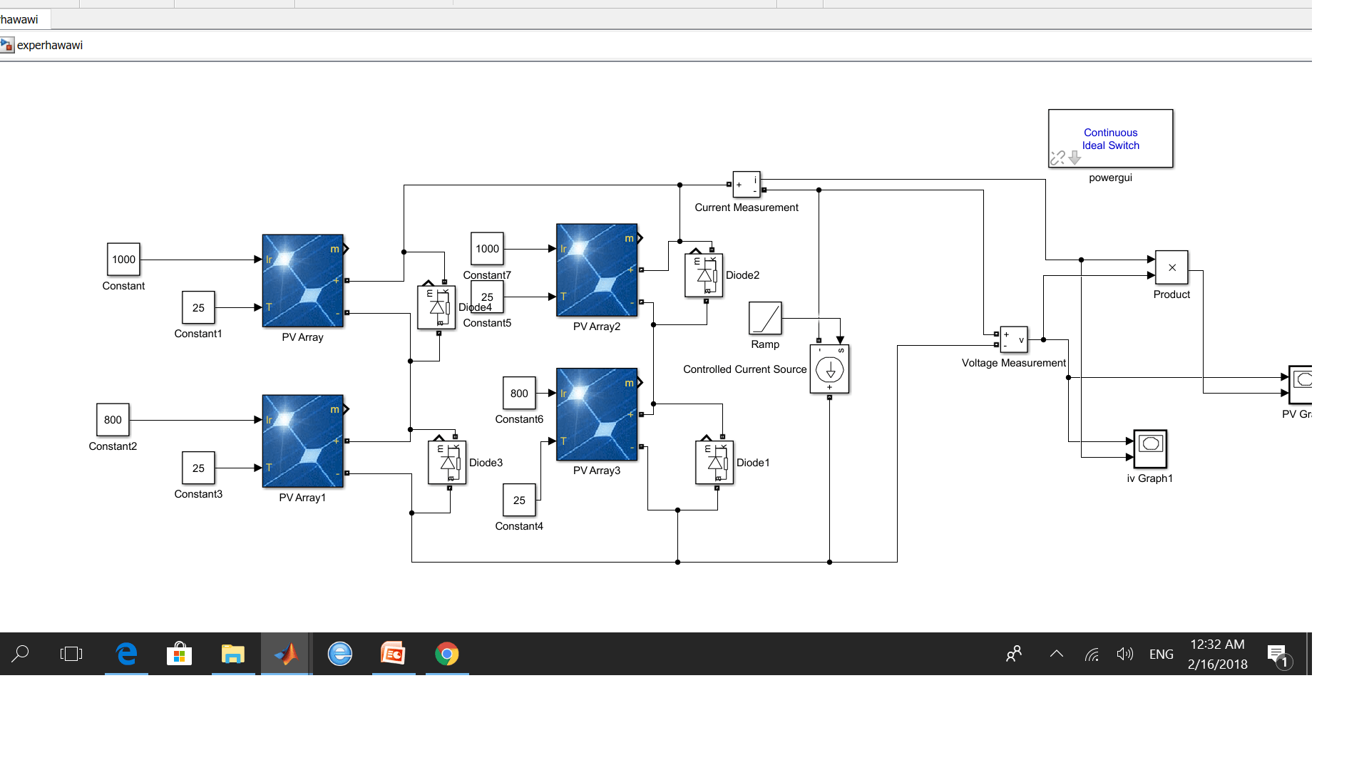 I need help in my research(maximum power point tracking