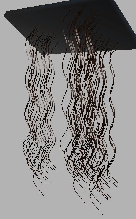Curly Hair In A Rest State Which Exhibits Natural Twist A Same