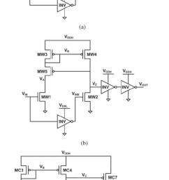 level shifter circuit schematics a conventional cross coupled half latch  [ 667 x 1367 Pixel ]