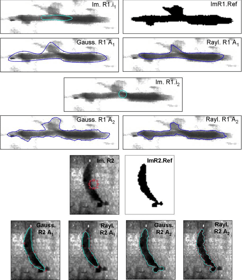 medium resolution of real weld defect images binary reference images and estimated contours by algo 1 and algo