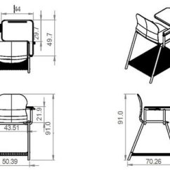 Ergonomic Chair Design Dimensions Blue Leather Swivel Pdf An Student And Engineering For Classroom Display Of Proposed S With Necessary