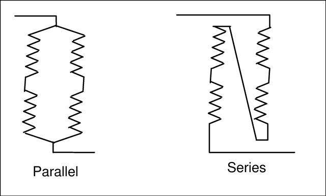 wiring in series versus parallel