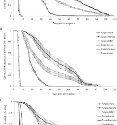 cumulative proportional survival mean se of adult house fly download scientific diagram [ 850 x 1511 Pixel ]
