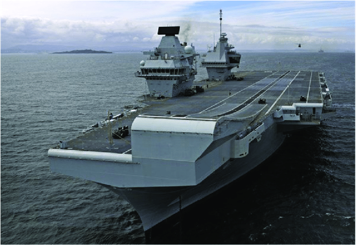 aircraft carrier diagram heart worksheet hms queen elizabeth during sea trials royal navy imagery database 2018