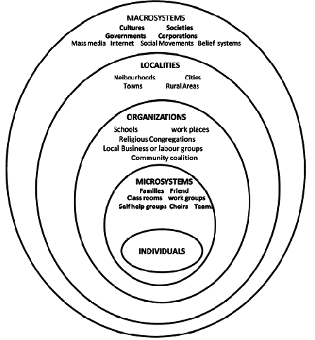 Ecological Levels of Analysis for Community Psychology