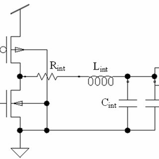 Conventional repeater circuit with interconnect