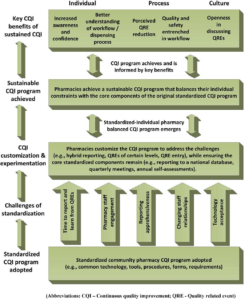 hight resolution of standardized cqi program outcome framework