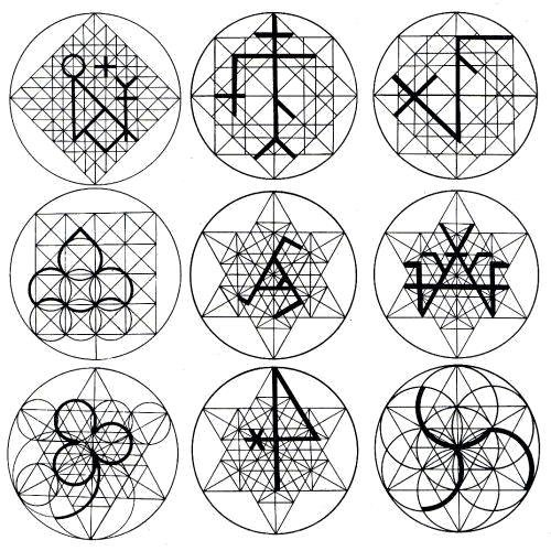 Applications of ad quadratum and ad triangulum in Gothic