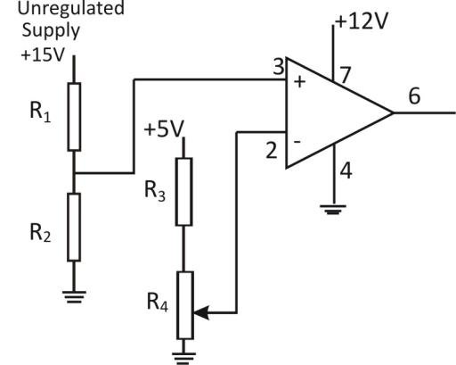 Voltage Sensing Circuit From Fig. 6, R 1 and R 2 form a