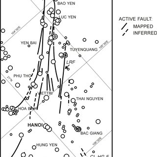 (PDF) Morphotectonic properties of the Lo River Fault near