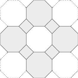 diagram of a square surround octagon