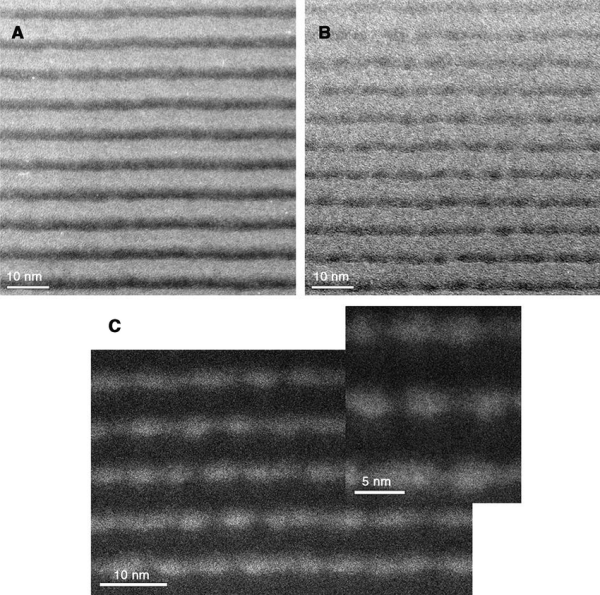 Cross-sectional Tem Of Ge4 Si Sample And Ge